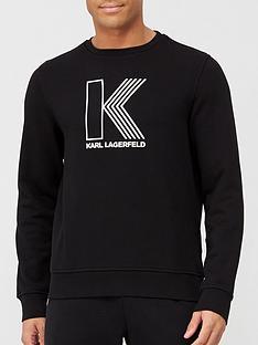 karl-lagerfeld-large-logo-sweatshirt-black-nbsp