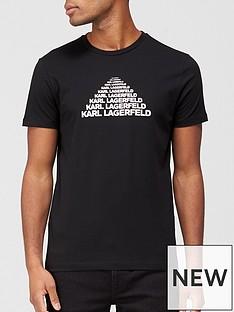 karl-lagerfeld-rubberised-logo-t-shirt--nbspblack