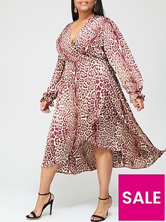 ax-paris-curve-animal-wrap-dress-animal-print