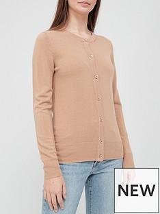 v-by-very-super-soft-deep-rib-hem-knitted-cardigan-camel