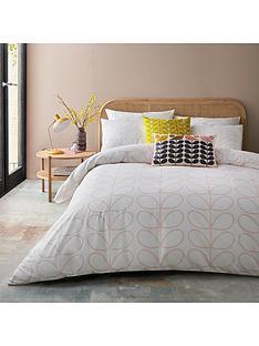 orla-kiely-house-linear-stem-duvet-covernbsp-pink