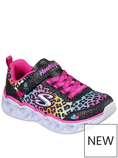 skechers-girlsnbspheart-lights-shimmer-spots-trainer-black