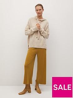 mango-cropped-trousers-yellow