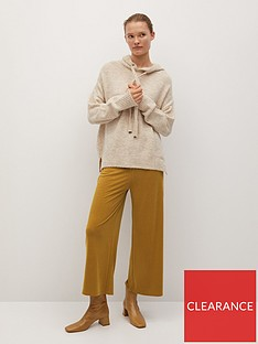 mango-cropped-trousers-yellow