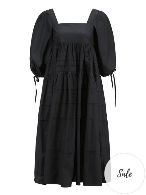 paper-london-frankie-cotton-smock-dress-black