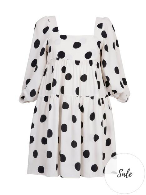 paper-london-martha-spot-smock-dress-white
