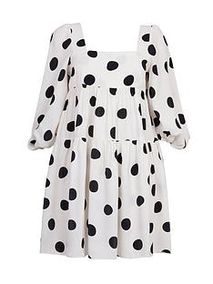 paper-london-martha-spot-smock-dress-white