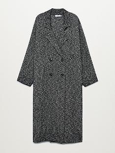 mango-herringbone-printed-coat-black