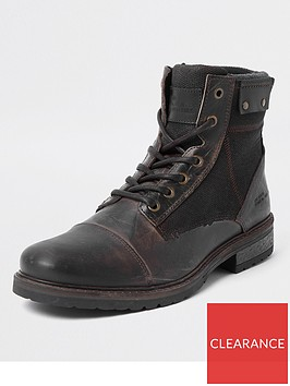 river-island-leather-lace-up-boots-brown