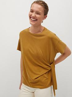 mango-tie-side-tee-yellow