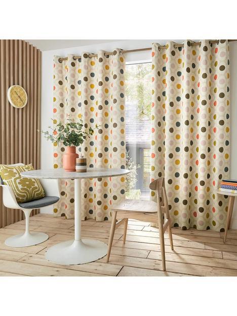 orla-kiely-spot-flower-summer-lined-eyelet-curtains