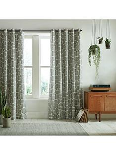 missprint-little-trees-monochrome-eyelet-curtains