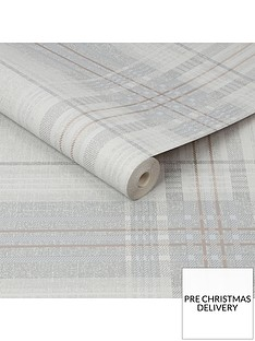 superfresco-rhea-plaid-greyrose-gold-wallpaper