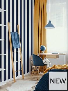superfresco-easy-navy-stripe-wallpaper