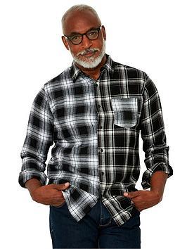 joe-browns-check-shirt-monochrome