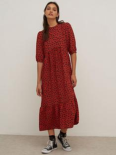 nobodys-child-rachel-smock-midi-dress-rust