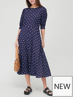 v-by-very-long-sleeve-crepe-midi-dress-spotnbsp