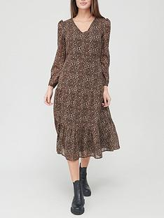 v-by-very-georgette-tiered-midi-dress-leopard