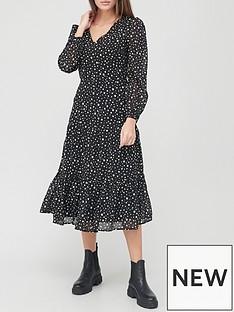 v-by-very-georgette-tiered-midi-dress-printnbsp