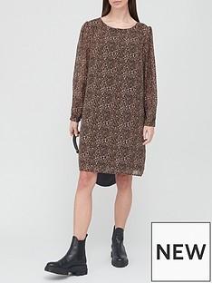v-by-very-georgette-mini-dress-leopard