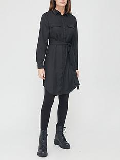 v-by-very-cupro-mini-shirt-dress-black