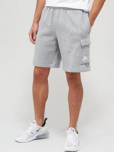nike-club-cargo-shorts-dark-grey