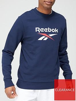 reebok-classic-vector-logo-crew-sweatshirtnbsp-navy