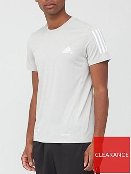 adidas-aeroready-3-stripe-t-shirt-grey