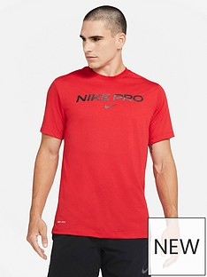 nike-training-pro-t-shirt-red