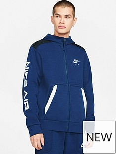 nike-air-contrast-block-full-zip-hoodie-navy