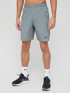 nike-training-flex-woven-30-shorts-grey
