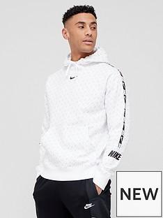 nike-repeat-fleece-pullovernbsphoodie-white