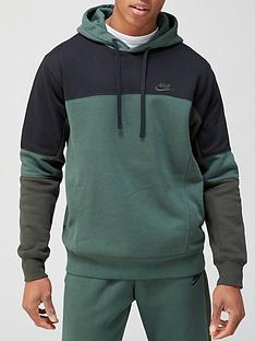 nike-colorblock-pullovernbsphoodie-green