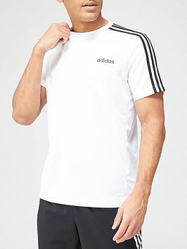 adidas-d2m-3-stripe-t-shirt-white