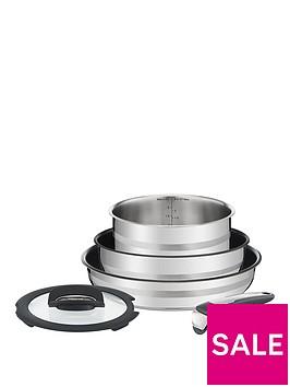 tefal-jamie-oliver-ingenio-5-piece-pan-set-stainless-steel