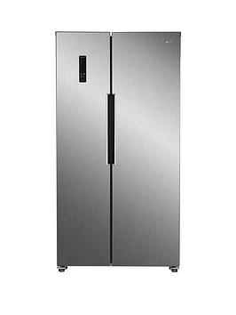 Swan Sr15641S Total No Frost 90Cm Wide American Style Fridge Freezer - Stainless Steel Look Best Price, Cheapest Prices