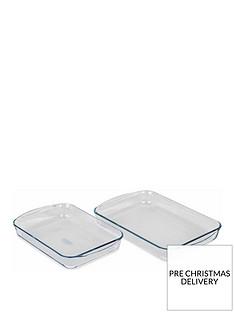 pyrex-2-piece-rectangular-roaster-set