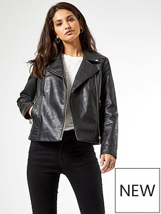 dorothy-perkins-pu-biker-jacket--nbspblacknbsp