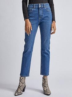 dorothy-perkins-midwash-slim-jeans-blue