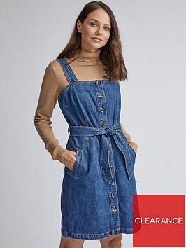 dorothy-perkins-belted-pinny-dress-blue