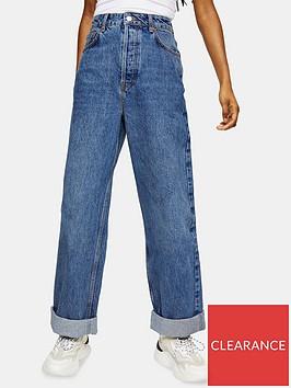 topshop-petitenbspzed-mom-jeans--nbspblue