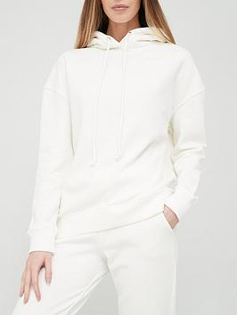 V By Very The Essential Oversized Hoodie - Off White