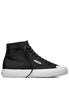 superga-2295-high-top-plimsoll-black