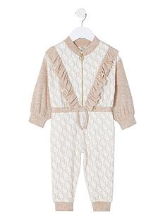 river-island-mini-girls-monogram-cosy-jumpsuitnbsp-nbspcream