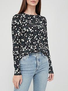 v-by-very-longnbsppuff-sleeve-top-floral