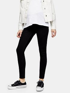 topshop-maternitynbspunderbump-jamie-jeans-black