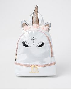 river-island-girls-glam-unicorn-backpack-white