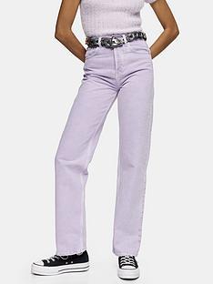 topshop-32-straight-leg-runway-jeans-lilacnbsp