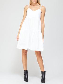 river-island-ladder-trim-smock-dress-white