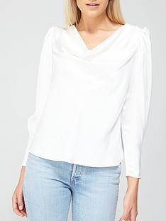 river-island-cowl-neck-blouse-ivory